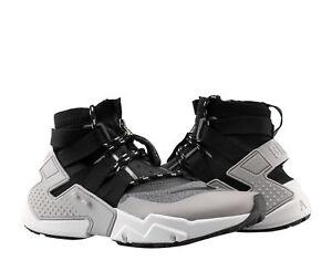 759ba20e51dd Nike Air Huarache Gripp Atmosphere Grey Black Men s Lifestyle Shoes ...