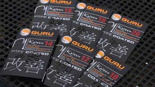 Guru Kaizen Hooks Size 10 to 20 Available
