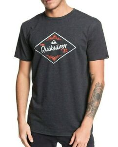 QUIKSILVER-MENS-T-SHIRT-CALIFORNIA-WOUNDS-SHORT-SLEEVED-COTTON-BLEND-TOP-9W-95KT