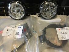 LED Front fog lights Ford Transit Mk7  2006 on  DRL LAMPS pl & pl With Brackets