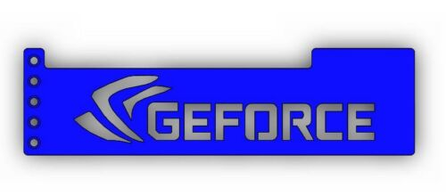 GEFORCE GPU Anti-Sagging Support Bracket//Brace GTX NIVDIA ROG 1080T BLUE