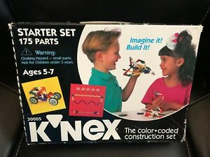 New-damaged-box-K-039-NEX-Starter-Set-175-Pieces-1994-30005
