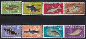 Thailand Scott # 501-508 set VF mint never hinged nice color cv $ 96 ! see pic !