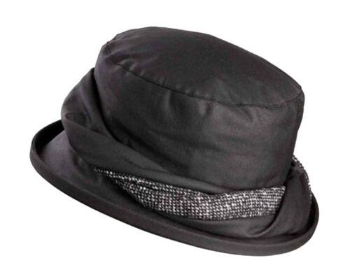 Olney Emma Ladies Waxed Cotton Hat