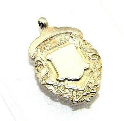 Birmingham 1902 Sophisticated Technologies W J Dingley Solid Silver Antique Fob/medal