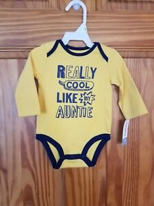 87e8d3134a0 Carters Baby Boys Cool Like My Auntie Bodysuit 3 months 190795872187 ...
