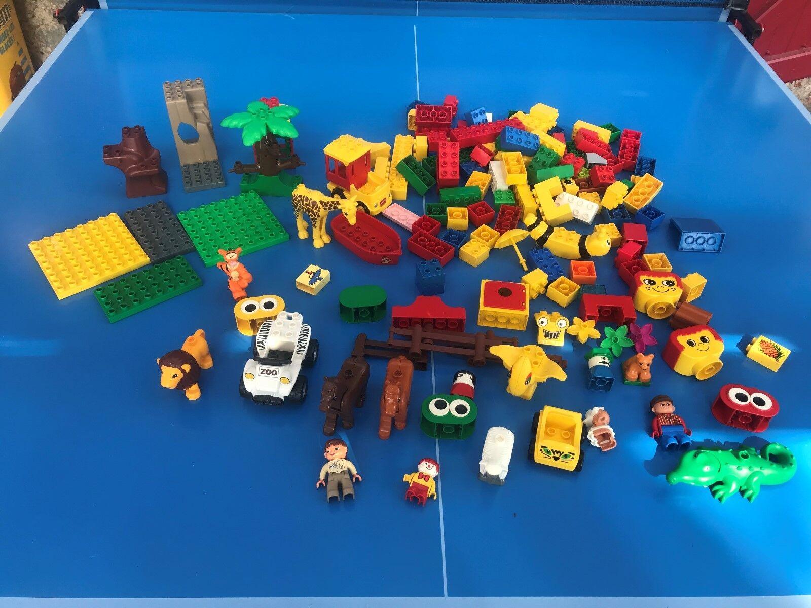 LEGO DUPLO PERSONNAGE VOITURE FERME ZOO MAISON BRIQUES GROS LOT + 2,0 KG N°3
