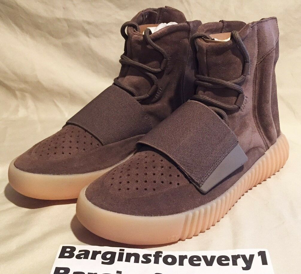 Adidas Yeezy Boost 750 - Size 6.5 - Chocolate - Light Brown/Gum - BY2456 - Kanye