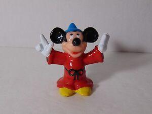 Vintage-Disney-Mickey-Mouse-The-Sorcerer-039-s-Fantasia-2-25-034-Tall-PVC-Figure