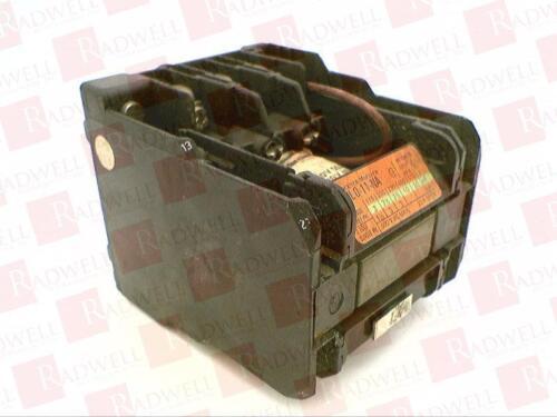 EATON CORPORATION DIL0-11-NA-120V-60HZ USED TESTED CLEANED DIL011NA120V60HZ