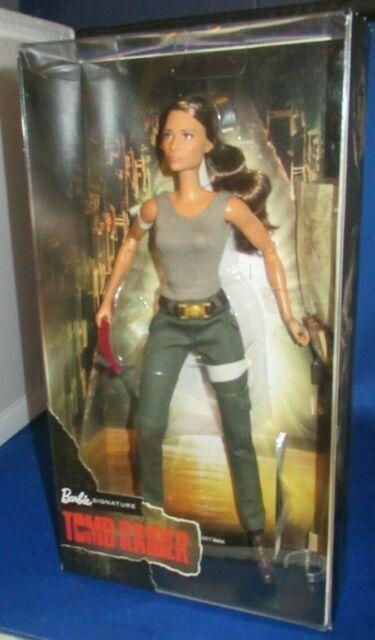 Lara Croft Barbie FJH53 Tomb Raider Deluxe Doll