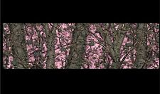 "Camouflage Pink Camo Boat Car Truck Trailer Graphics Decal Wrap Skin  48"" X 14"""