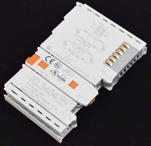 1PCS Used BECKHOFF KL3404 module