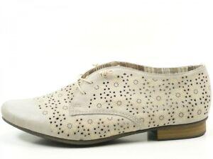 Details zu Rieker 51946 Schuhe Damen Halbschuhe Schnürschuhe