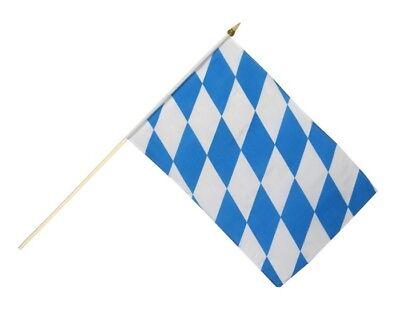Stockflagge Stockfahne Guinea 60x90cm Fahne Flagge mit Stock