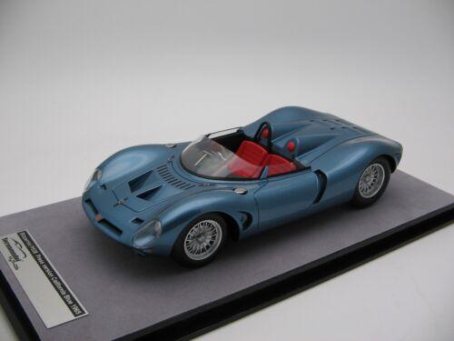 Echelle 1/18 Tecnomodel Bizzarrini P538 California Blue Metallic 1965 - Tm18-97d