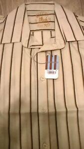 TOPMAN-Mens-light-grey-stripe-trendy-smart-shirt-Size-S-M-L-XL-NEW-TOPSHOP