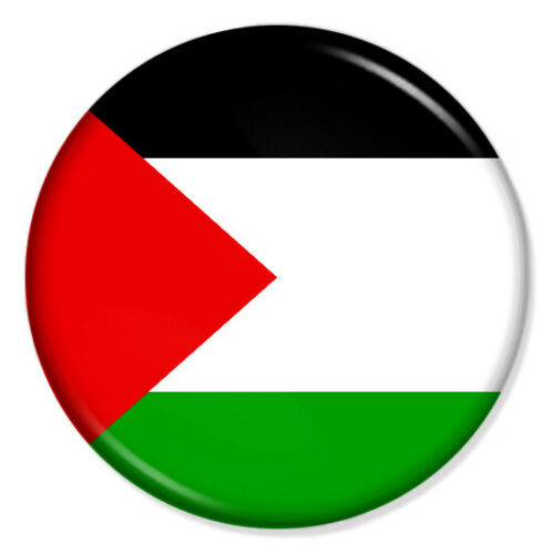 FREE PALESTINE 25mm /& 37mm Pin Badges Buttons FREE GAZA PROTEST FLAG ISRAEL