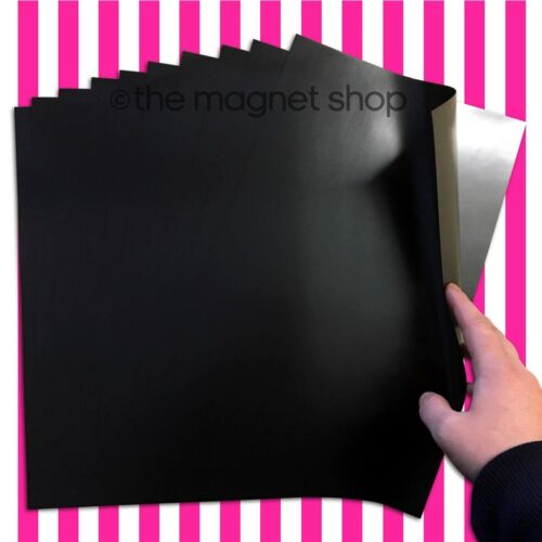 0.4mm Thick 10 Plain A4 Magnetic Sheets for Crafts /& Spellbinder Die Storage