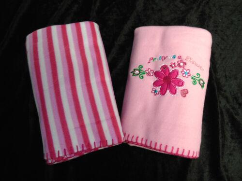 2er Set Doppelpack Kuscheldecke Babydecke Baby Kinderwagendecke 75 x 100cm