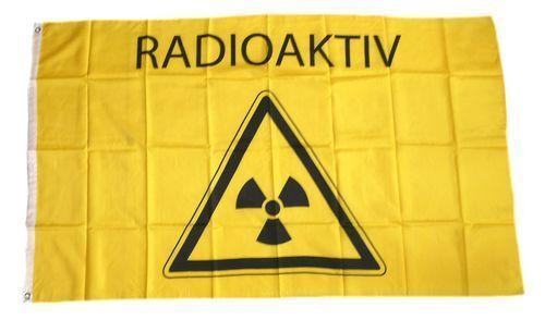 Fahne / Flagge Radioaktiv NEU 90 x 150 cm