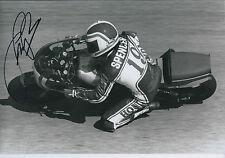 Fast Freddie SPENCER SIGNED Photo HONDA AFTAL Autograph COA 500cc GP Winner
