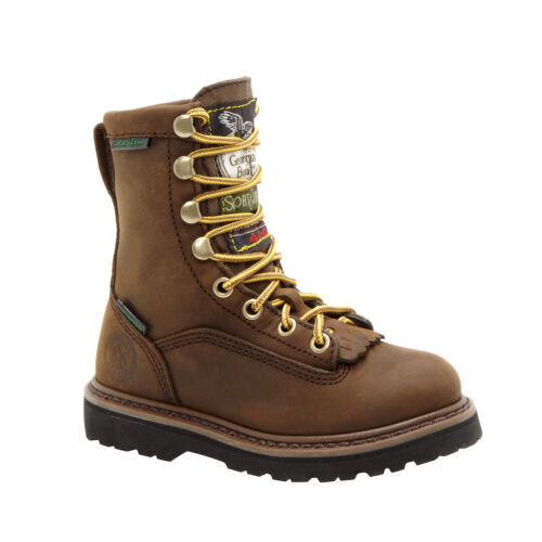 CHILDREN/'S//YOUTH GEORGIA BOOTS LACER WATERPROOF INSULATED BOOTS G2048