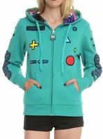 Cartoon Network Adventure Time Bmo Cosplay Jrs Zip Hoodie Size Xl