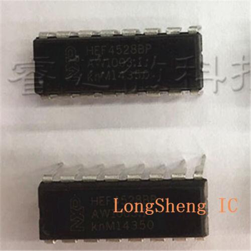 5PCS HEF4528BP Dual monostable multivibrator DIP16 new