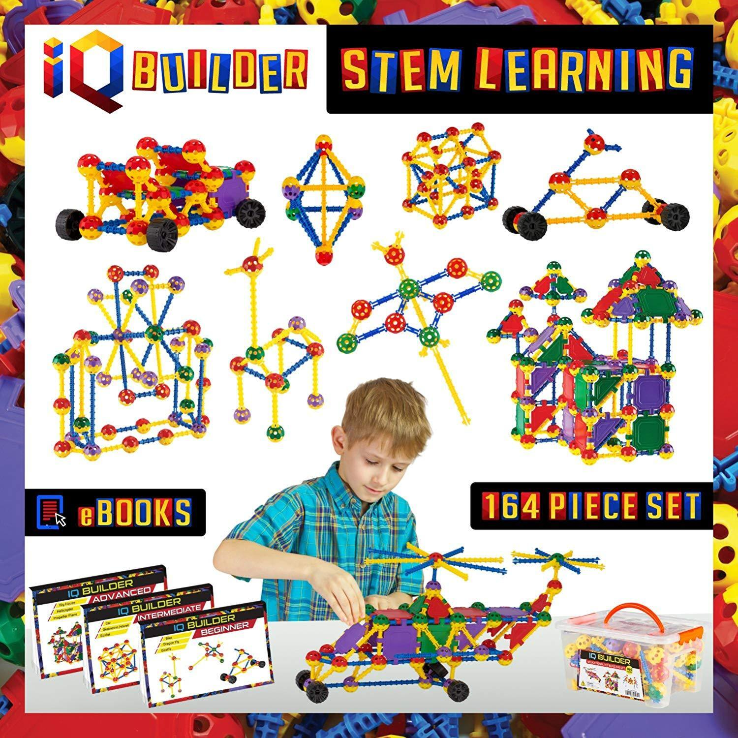 XMAS SALE Gift For 5 Year Old Boy Creative Construction Engineering Leaning Toys