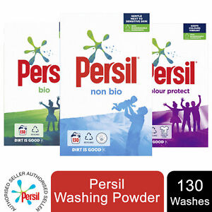 1 Pack Persil Mega Pack Washing Powder, Bio/Non-Bio/Co