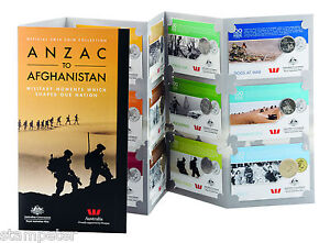 2016-ANZAC-to-Afghanistan-Official-2016-Coin-Collection-Complete-in-Folder-RAM