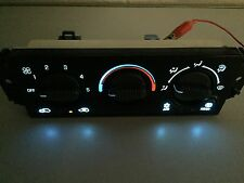 00 01 02 Chevy Silverado, Sierra  AC Heater Control.New LEDs ,With REAR DEFROST