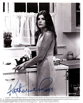 "Movies Autographs-original 100% Quality Katharine Ross Autograph Signed 8x10 Publicity Press Photo ""stepford Wives"""