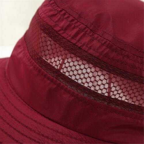 Mode été Chapeau respirant Protection UV Unisexe Capuchons de refroidissement