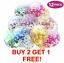 miniature 1 - Lot-de-12-confettis-ballons-latex-12-034-decorations-a-L-039-helium-Fete-D-039-anniversaire-Mariage