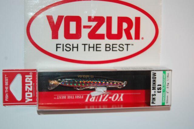 3667 Yo Zuri Pin/'S Minnow 50 mm Sinking Lure F1164-RH