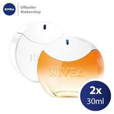 NIVEA Eau de Toilette Duftset 2x30ml Creme Duft + SUN Parfüm Frauen EdT Femme