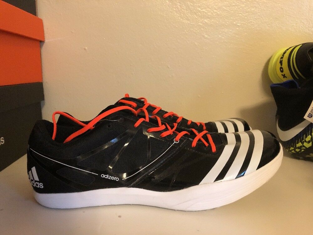 Adidas Adizero LJ 2 Mens Track Field Long Jump Spikes Jumping Shoes SZ 12 B44073