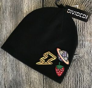 a6ae4c50e33 H M Beanie Planet Strawberry Lightning Strike Patches One Size NWT ...