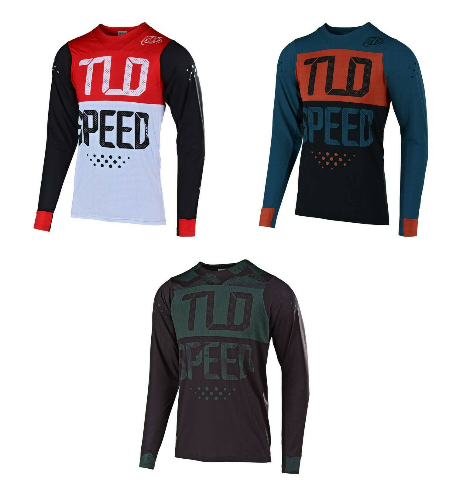 2019 Troy Lee Designs TLD Pour des hommes Skyline Speed Shop Air Jersey Mountain Bike Cycle