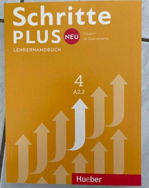 Lehrerhandbuch Schritte plus Neu 4 / A2.2