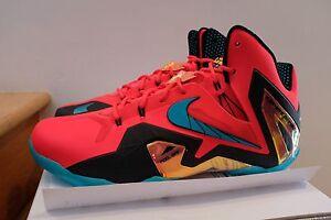 Cheap price Nike Lebron 11 Zoom Turbo Green Red
