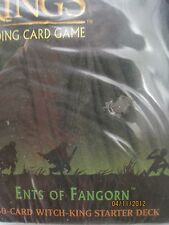 LOTR TCG EOF Ents of Fangorn Witch-King Starter Deck Box SEALED