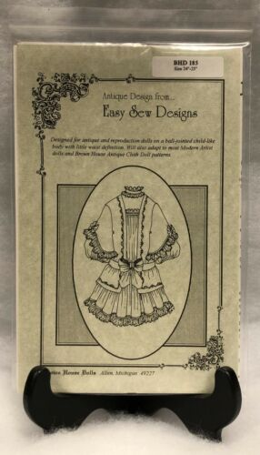 """Brown House Doll Easy Sew Designs BHD185 24""""-25"""" Pattern"""