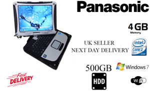 PANASONIC-TOUGHBOOK-Intel-CF19-1-20GHZ-500GB-TOUCHSCREN-LAPTOP-WITH-FREE-CHARGER
