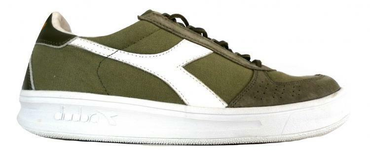 DIADORA sneaker shoes man model 201.171397 C6339 green white