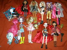 x9 BRATZILLAZ Bratz / Ever After High doll Lot + pet & Accessories