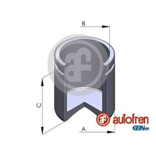 Kolben für Bremssattel AUTOFREN SEINSA D02561