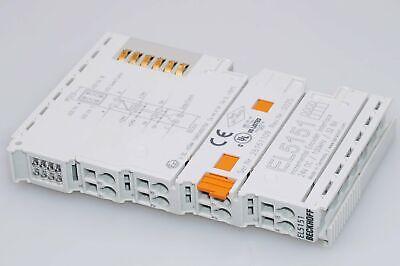 1 Stück BECKHOFF EL5151  Inkremental-Encoder-Interface 32 Bit 24VDC